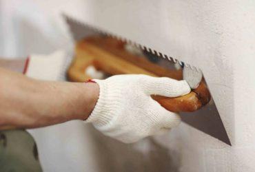 Как лучше штукатурить стену
