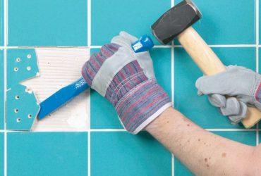 Как отремонтировать старую плитку