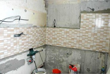 Проводка в ванной комнате