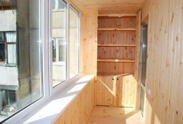 Материалы для внутренней обшивки балкона